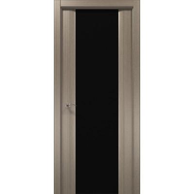 Двери межкомнатные Папа Карло Cosmopolitan CP-22 триплекс черный
