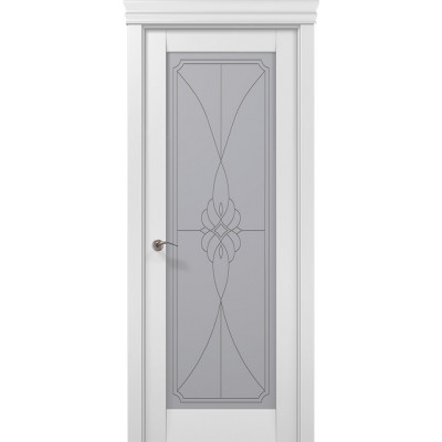 Двери межкомнатные Папа Карло Millenium ML-09 бевелс
